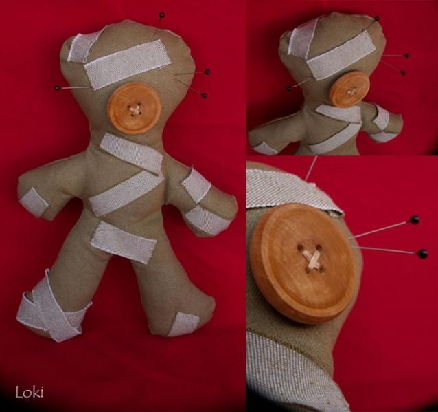 Куклы вуду как сделать своими руками в домашних условиях